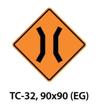 Temporary Conditions Sign - TC-32