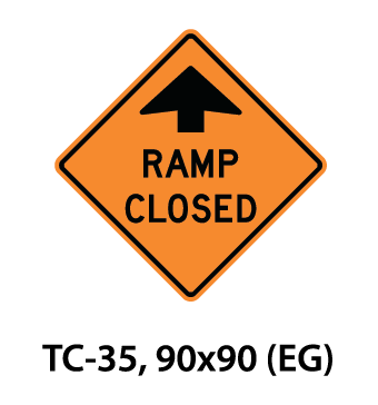 Temporary Conditions Sign - TC-35