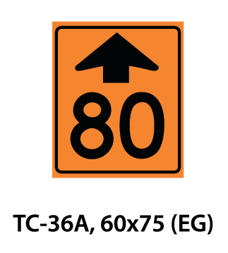Temporary Conditions Sign - TC-36A