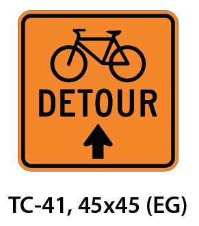 Temporary Conditions Sign - TC-41