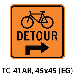 Temporary Conditions Sign - TC-41AR