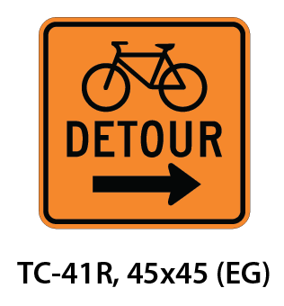 Temporary Conditions Sign - TC-41R