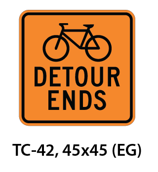 Temporary Conditions Sign - TC-42