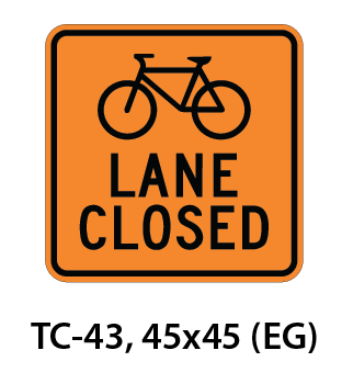 Temporary Conditions Sign - TC-43