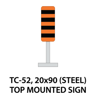 Temporary Conditions Sign - TC-52