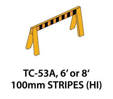 Temporary Conditions Sign - TC-53A (6' or 8')