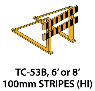 Temporary Conditions Sign - TC-53B (6' or 8')