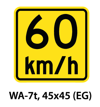 Warning Sign - WA-7t