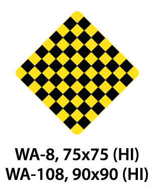 Warning Sign - WA-8 / WA-108