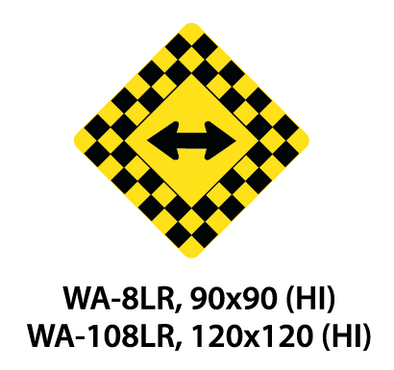 Warning Sign - WA-8LR / WA-108LR