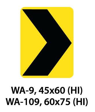Warning Sign - WA-9 / WA-109