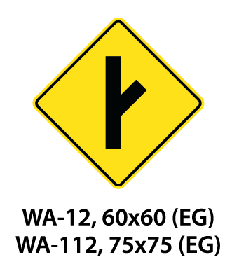 Warning Sign - WA-12 / WA-112