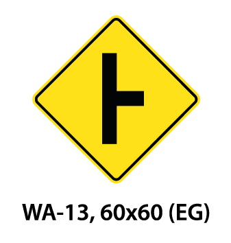 Warning Sign - WA-13