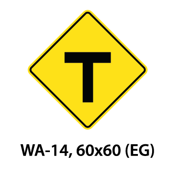 Warning Sign - WA-14