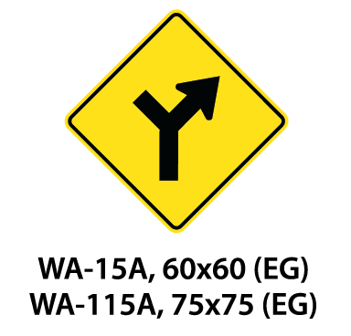 Warning Sign - WA-15A / WA-115A