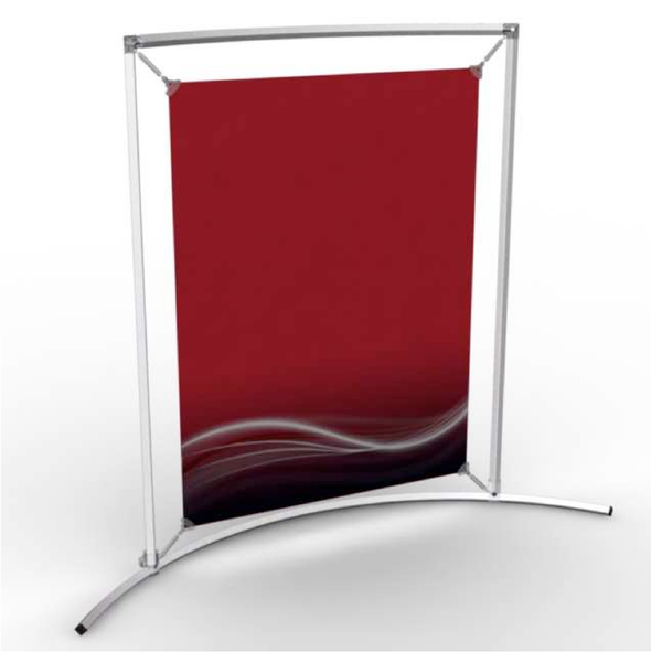Counter Frame Poster Display [Curved Stand]