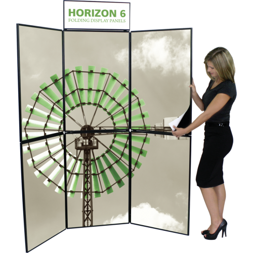 Horizon 6 Folding Panel Display