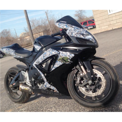 Partial Sport Bike Wrap