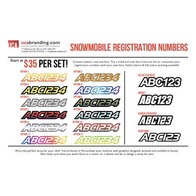 Registration Decals