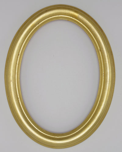 Presto #100 Gold Solid Wood 5x7 Oval Frame