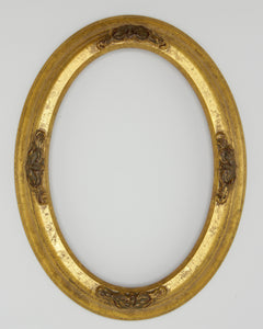 Presto #306 Gold Solid Wood Oval Frame