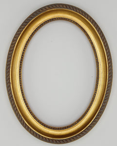 Presto #700 Gold Solid Wood Oval Frames