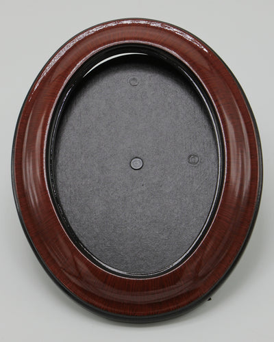 Contemporary Cherry Solid Wood Oval Frames