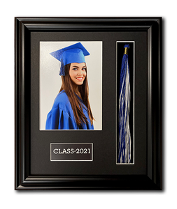 Graduation Tassel Picture Frame for 5x7 Print by Frames for Portraits