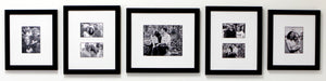 """Forever"" 5-Frame Family Portrait Gallery with 3"" Designer Mat"