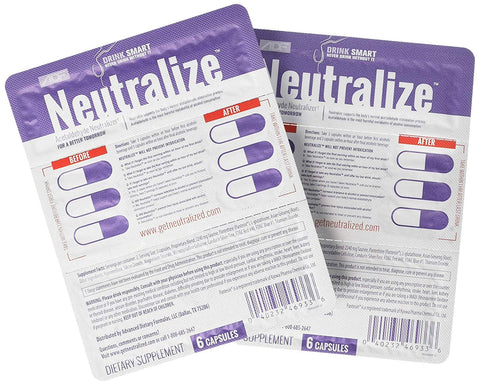 "Neutralize ""Weekend"" Pocket Packs - Contains 2 packages of Neutralize"