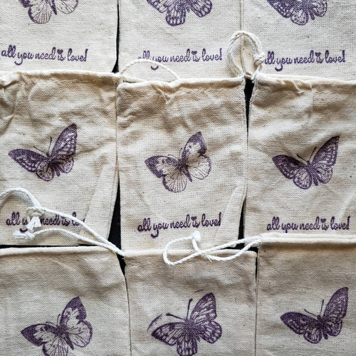 Organic Lavender Satchel {Filled w/ Amazingly Fragrant French Lavender}