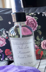 Belle Lux Rosewater Facial Mist & Toner {%100 Pure Rose Hydrosol, Quality That Only Nature Intended}... Pair w/ ~ Belle Lux Facial Cremé {Mango Butter, 5% Shea Butter w/ Moroccan Argan Oil ~ A Delicate Version Of Pure Grace}, Deliciously Quenching For Your Gorgeous Face...