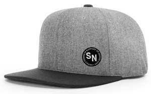 "Melton Wool Strapback with ""SN"" Patch"