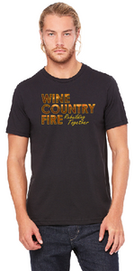 "Bella + Canvas Unisex ""Wine Country Fire"" T-Shirt"