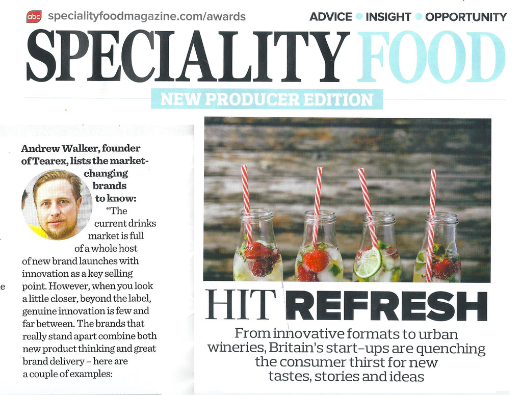 Founder Feature Piece in Speciality Food Magazine