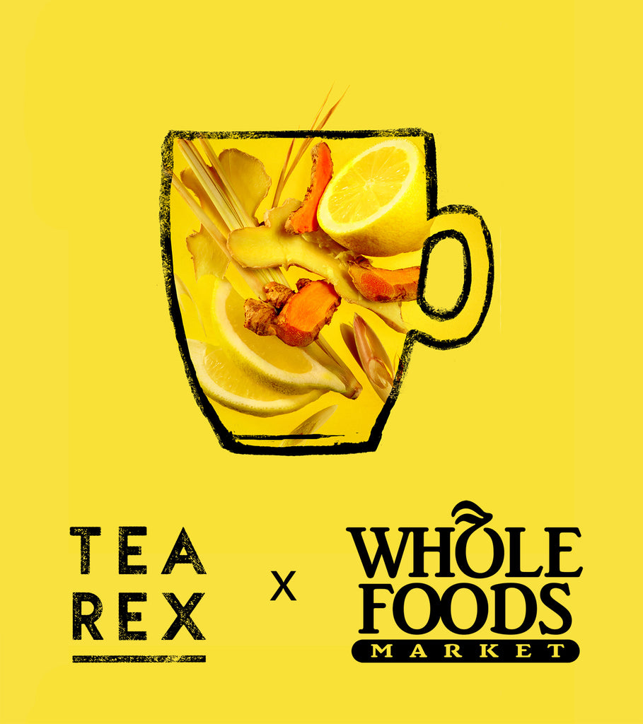 TEA REX has landed at Whole Foods