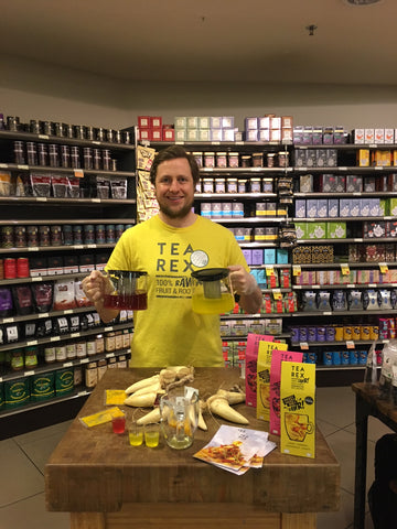 Founder Andrew Walker TEA REX at Whole Foods