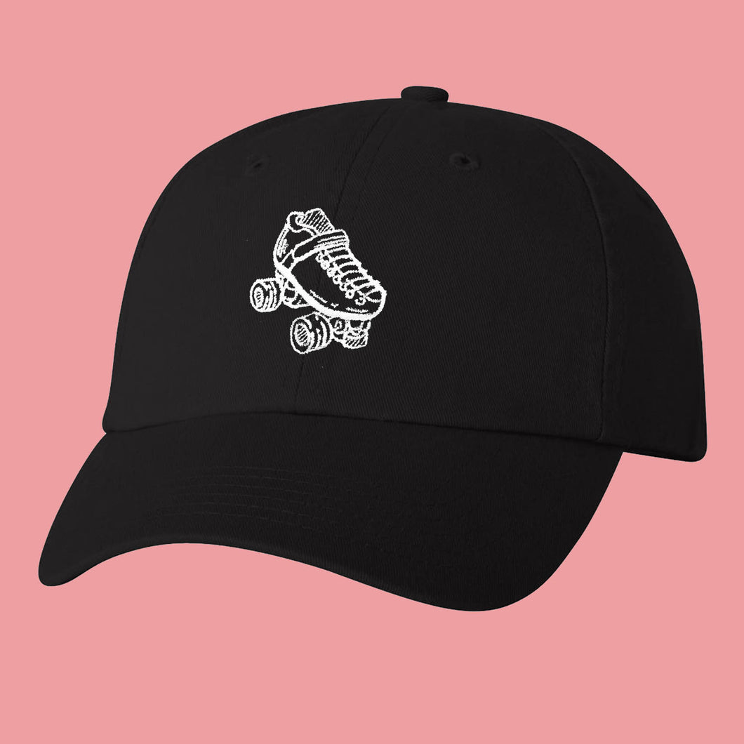 Black Skate Pretty Dad Cap