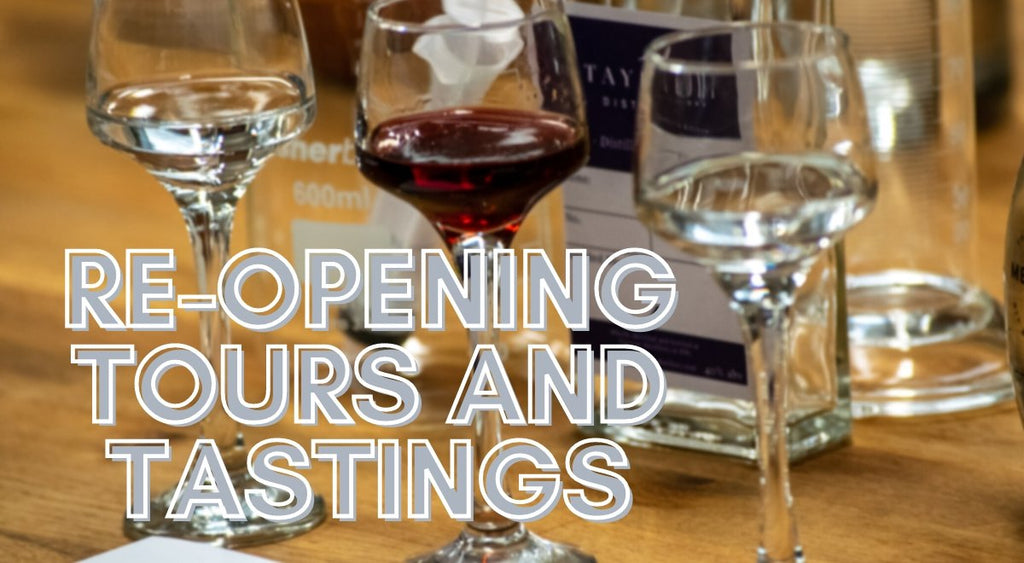 Re-opening for Tours and Tastings | Tayport Distillery