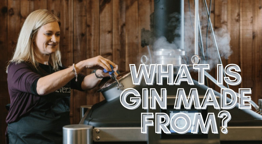 What is Gin made from? | Tayport Distillery
