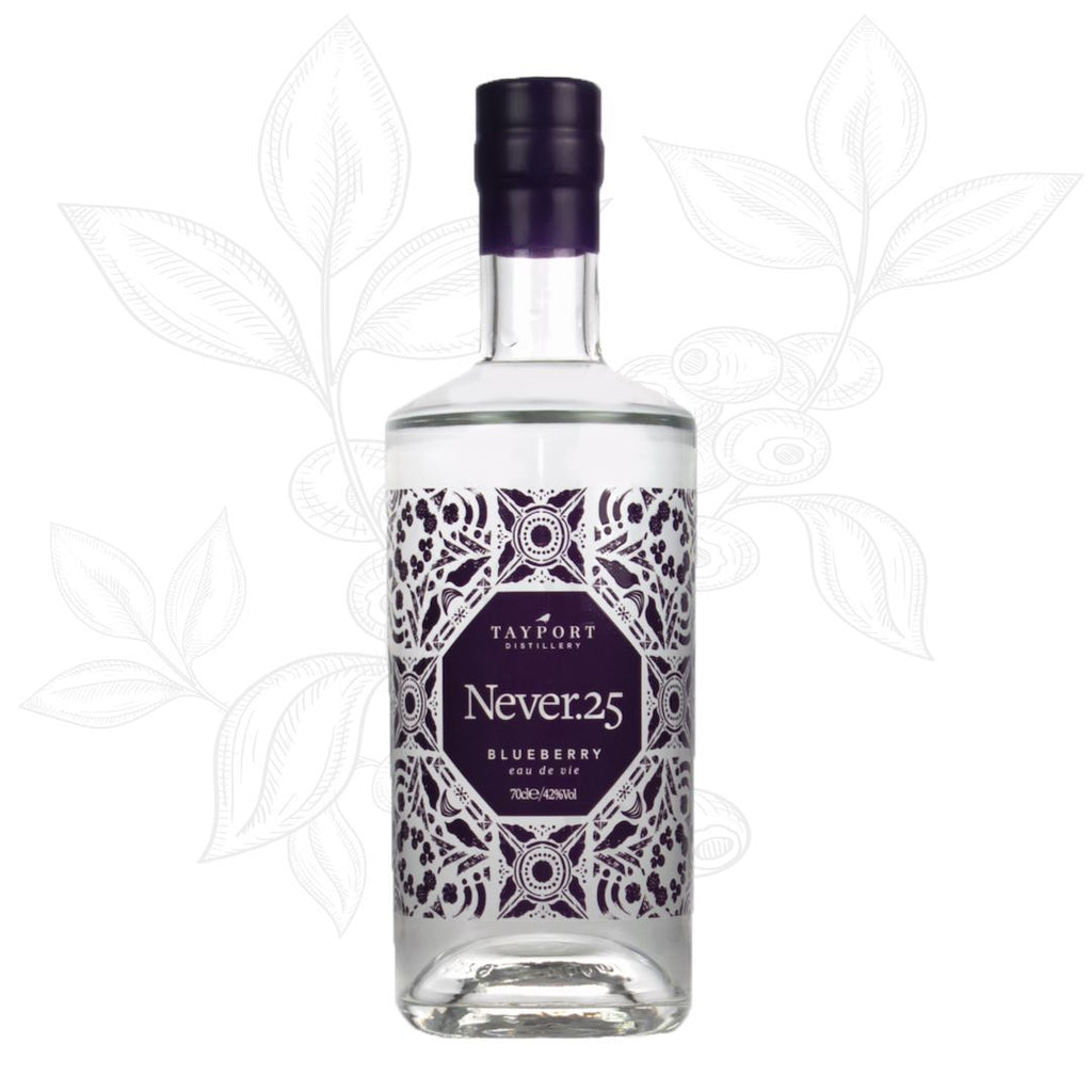 Never.25 Blueberry Eau de Vie - Tayport Distillery