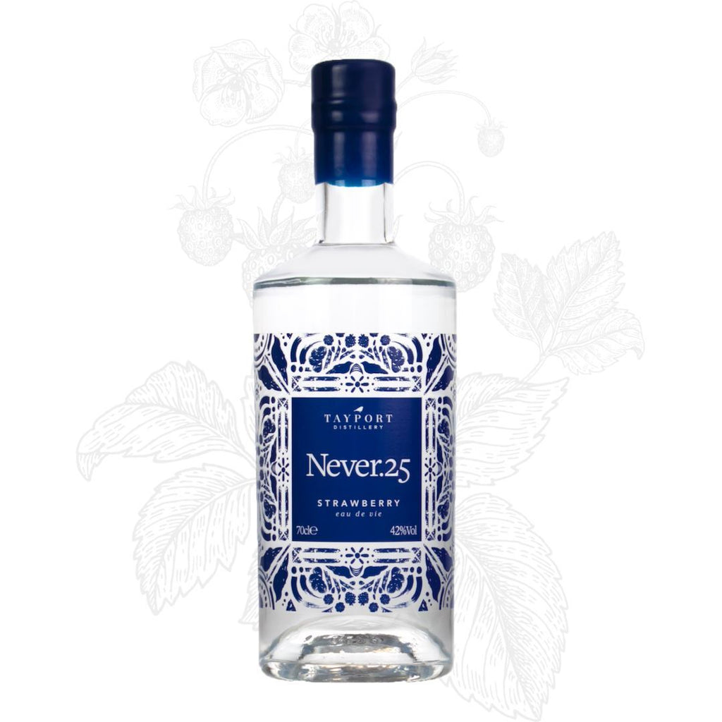 Never.25 Strawberry Eau de Vie - Tayport Distillery