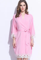 Cotton Lace Wedding Robes