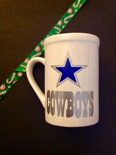 Custom football coffee mugs
