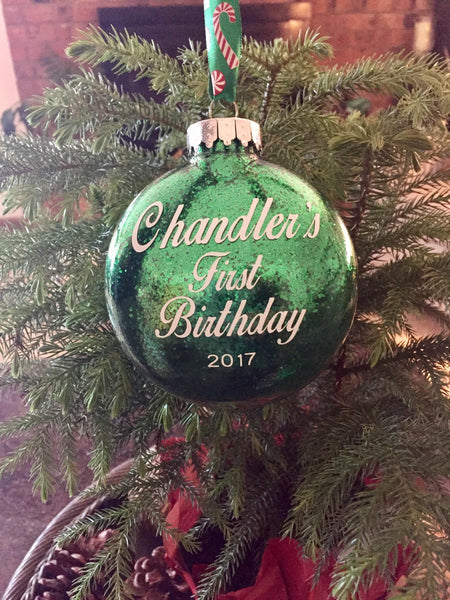 Personalized Ornaments/ Baby's first Christmas