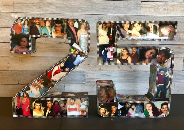 Custom 3D photo collage