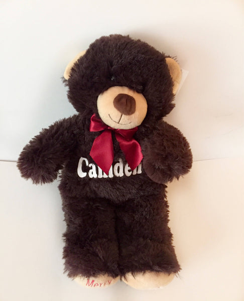 Valentine's Day & personalized bear.