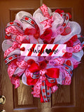Custom Valentine's Wreath