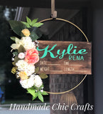Hoop Floral Wreath