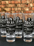 Personalized Shot Glasses